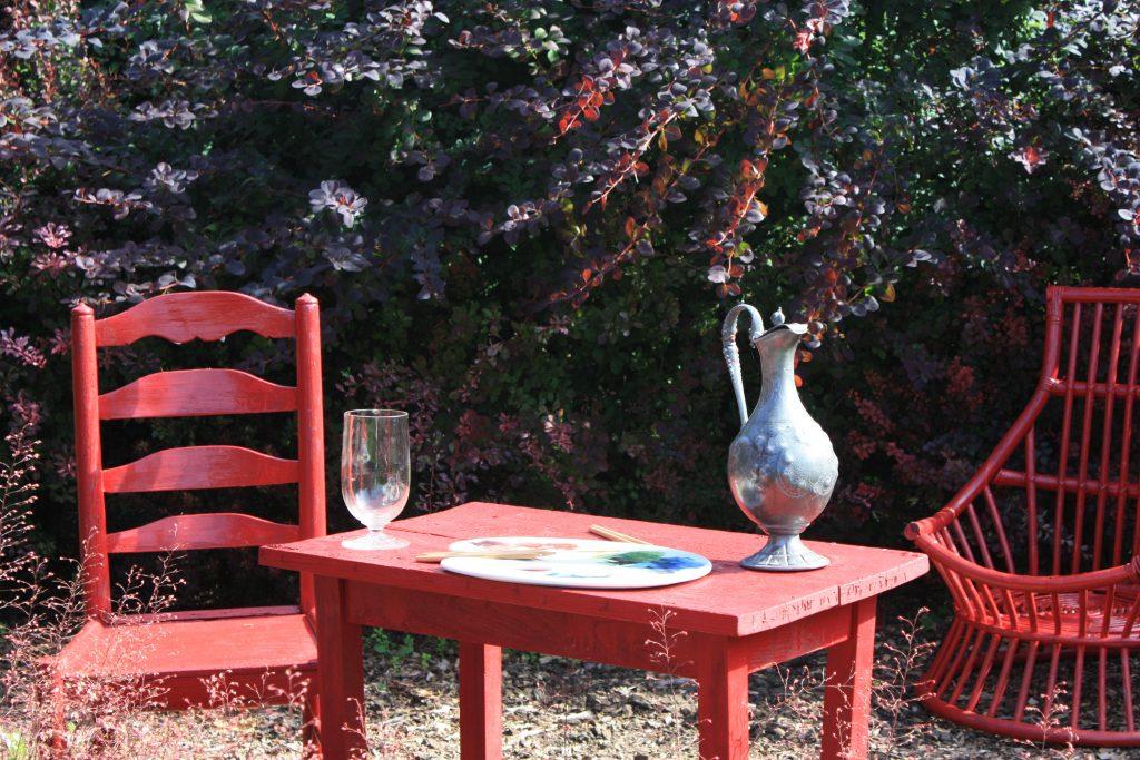 Matisse inspired Garden